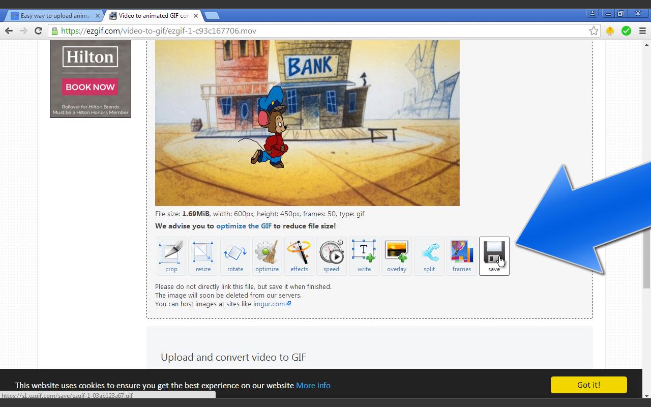 How to Upload An Animation Gif to Deviantart - Ian Maigua
